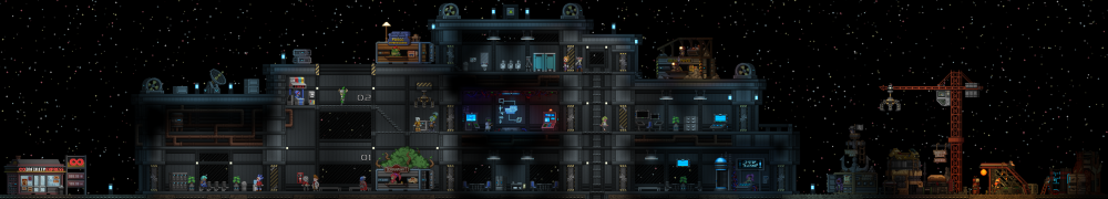 Full view of outpost building