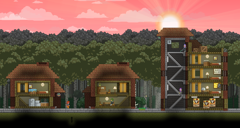 City Apartments apex city apartments - starbounder - starbound wiki