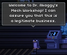 Dr. Akaggy, Mech Scientist