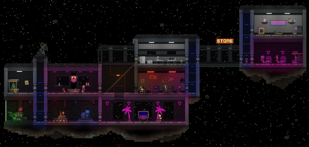 Peacekeeper Station Starbounder Starbound Wiki